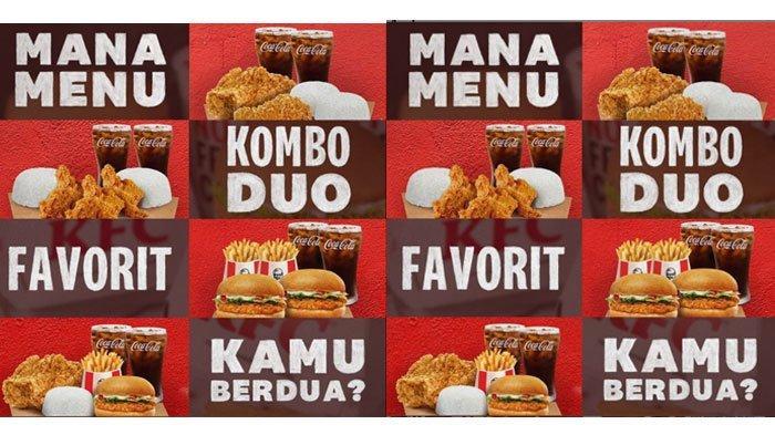 Promo KFC Oktober 2021, Paket Kombo Duo Buat Berdua Cuma Rp 50.000, Tersedia 4 Varian Menu