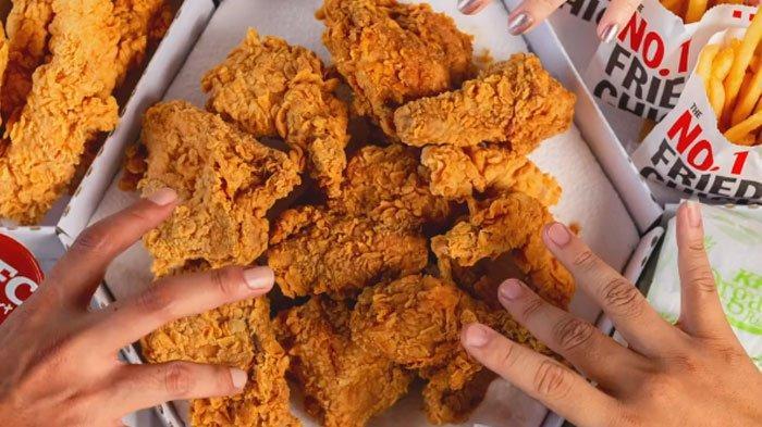 Cuma Berlaku Hari Ini, Promo KFC 29 Juli 2021 Tawarkan 10 Potong Ayam Seharga Rp 90.000, Yuk Serbu!