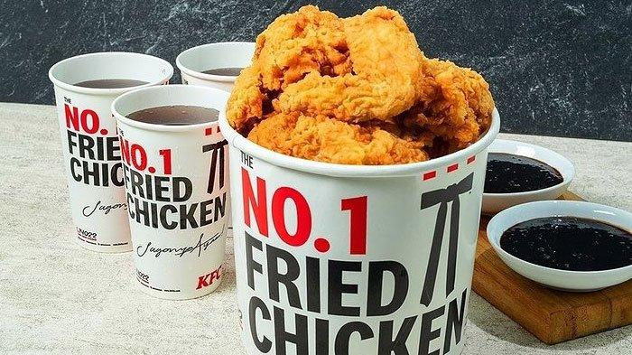 Promo KFC Kombo Merah Putih Hari Ini, Bayar Rp 76.000 Dapat 9 Drumette, 9 Wingette, 4 Minuman Soda