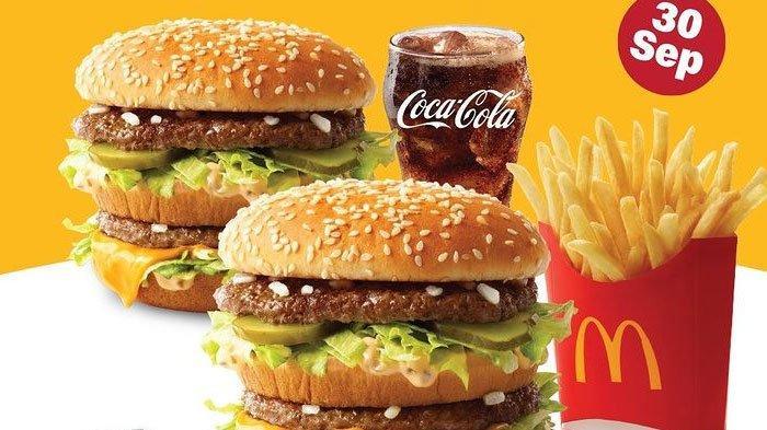 Promo McD Beli 1 Gratis 1 Burger Big Mac, Berlaku Khusus 30 September 2021, Simak Cara Dapatnya