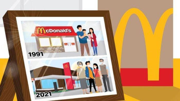 Promo McD Berlaku sampai 30 September 2021, Rp59.091 Bisa Dapat 4 Potong Ayam Krispy + 2 Teh Botol