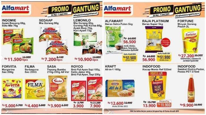 Promo Gantung Alfamart Rabu 2 Juni 2021, Fortune Minyak Goreng 2 Liter Rp 27.200, Sabun Cuci Rp 5000