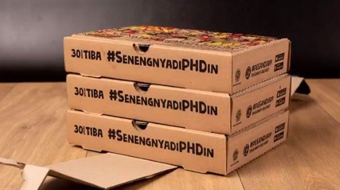 Promo PHD Selasa 27 Juli 2021, Paket My Box Pilihan Pizza, Pasta, atau Nasi + Snack Asin atau Manis