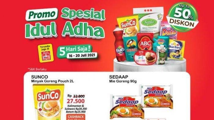 Promo Alfamart Kamis 22 Juli 2021: Ada Kopi Instan dan Susu Cuma Rp 5 Ribu, Santan Beli 2 Gratis 1