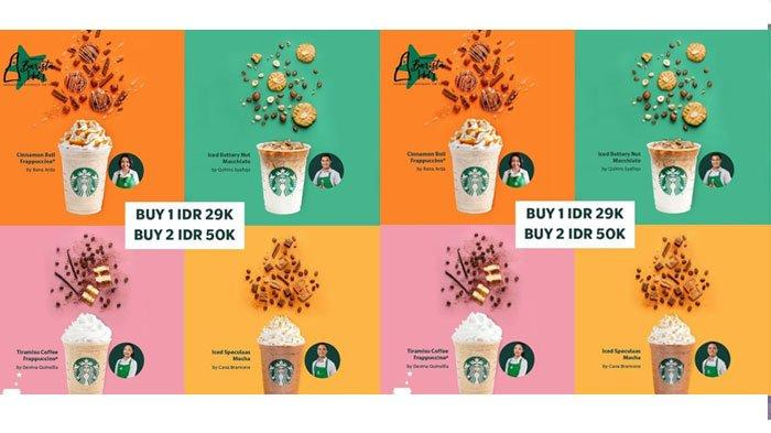 Promo Starbucks 2 Oktober 2021, Cobain 4 Jenis Minuman Kreasi Barista Idol dengan Harga Spesial