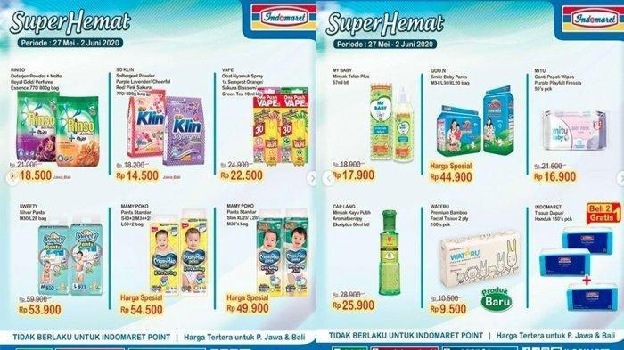 Katalog Promo Indomaret Selasa 24 November 2020: Susu, Camilan, Deterjen, hingga Shampoo Ada Diskon
