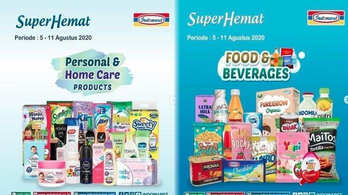 Promo INDOMARET 6 Agustus 2020, Promo Super Hemat Susu, Harga Heboh Minyak Goreng hingga Popok Bayi