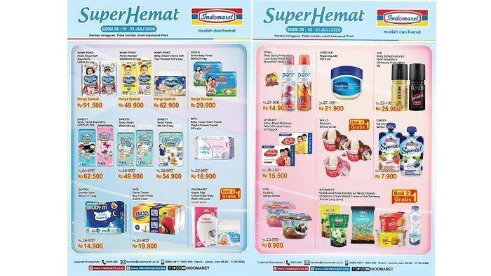 Katalog Promo Indomaret 21 Juli 2020, Super Hemat Deterjen, Popok Bayi, Indomie, Ada Beli 2 Gratis 1