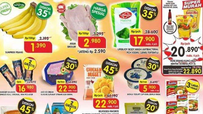 Promo Superindo Periode7 - 10September 2020, Diskon Harga Minyak Goreng 2 Liter Cuma Rp 20 Ribuan