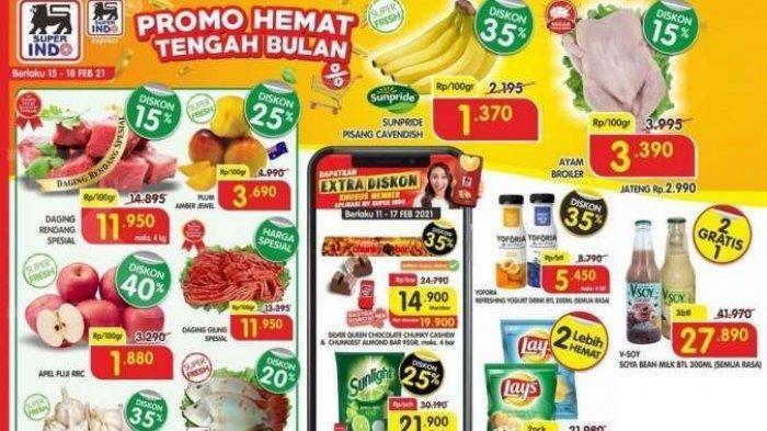 Katalog Promo Superindo Kamis 18 Februari 2021, Minyak Goreng hingga Deterjen Daia Ada Diskon Harga