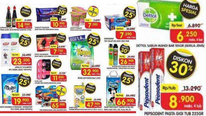 Promo Superindo22September 2020: Deterjen Rinso 1.8 Kg Rp 32.900- Shampoo Lifebuoy Cuma Rp 23.500