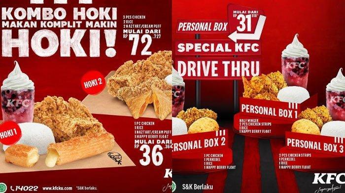 Promo KFC 9 Maret 2021 Makan Enak Tapi Hemat, ada Family Fun Size Hingga Kombo Hoki