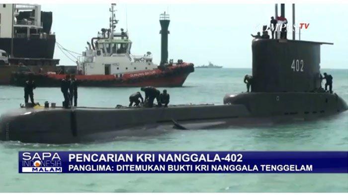 Terbelah Jadi 3 Bagian, Kronologi Ditemukannya Bagian KRI Nanggala-402 Terkuak, Evakuasi Diupayakan