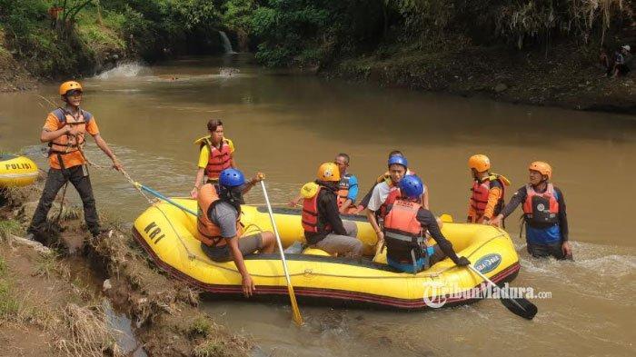 Bermaksud Cari Tanaman Bonsai, Pria Mojokerto ini Tenggelam, Dilaporkan Terseret Arus Sungai Pikatan