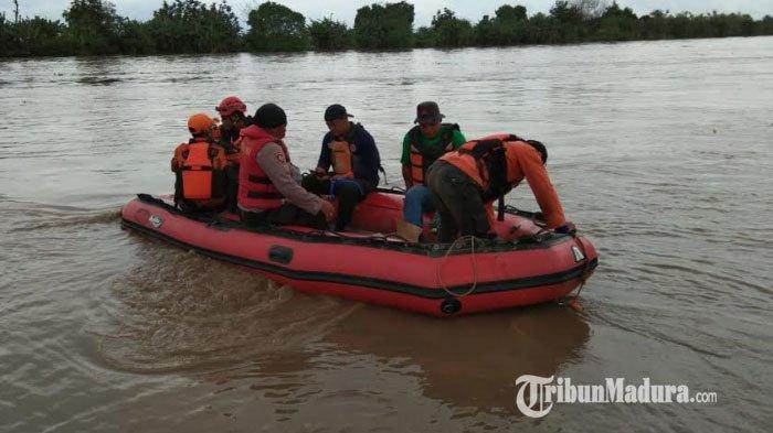 Petani Tuban Hilang di Bengawan Solo, Tiga Hari Belum Ditemukan, BPBD dan Basarnas Siaga di Posko