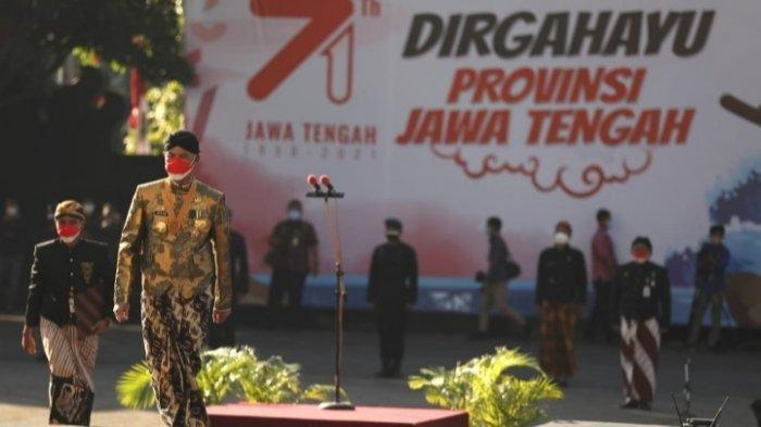 Provinsi Jawa Tengah merayakan Hari Ulang Tahun ke-71 Minggu (15/8/20210).