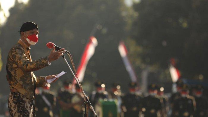 HUT ke-71 Provinsi Jawa Tengah Digelar Sederhana, Gubernur Ganjar Ajak Masyarakat Saling Menguatkan