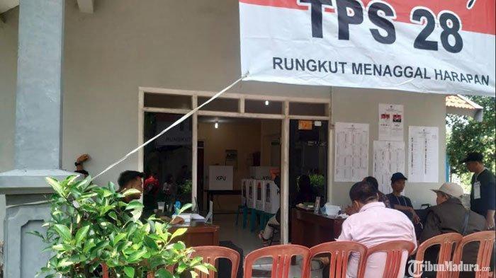 Partisipasi Masyarakat PSU di TPS 28 Rungkut Menanggal Surabaya Menurun Dibanding Pemilu 17 April