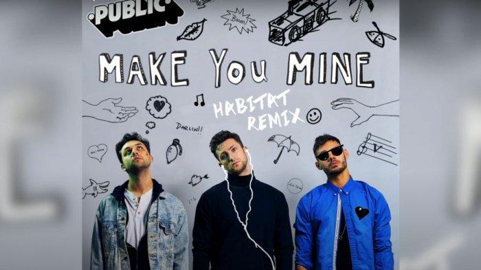 Download Lagu MP3 'Make You Mine' PUBLIC Remix Plus Lirik 'Put Your Hand in Mine', Viral di TikTok