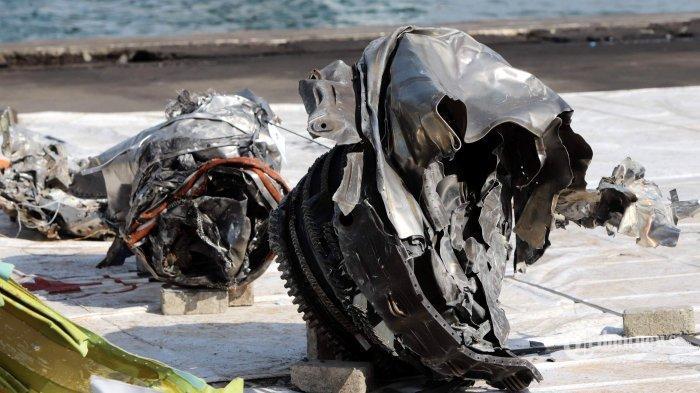 Terjawab Sudah Penyebab Sriwijaya Air SJ-182 Jatuh Bukan karena Meledak, KNKT: Utuh saat Tabrak Air