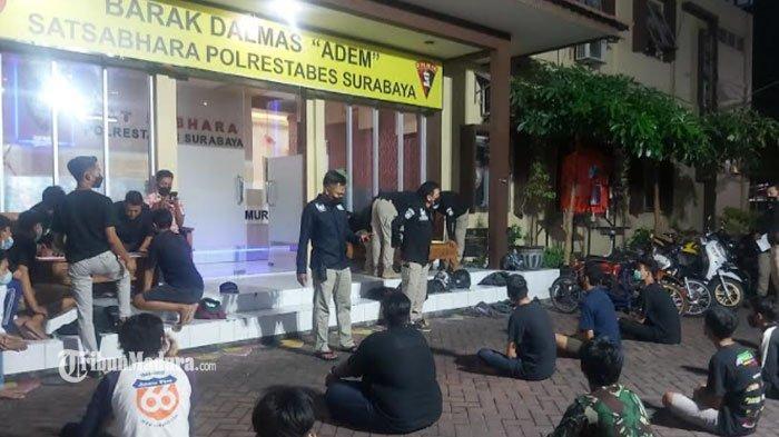 Pengakuan Remaja Tanggung di Surabaya, Tak Kapok Digelandang Polisi Demi Ikut Balap Liar di Jalanan