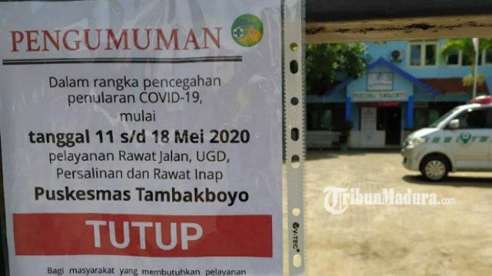 Hasil Rapid Test Petugas Medis Puskesmas Tambakboyo Tuban Seusai Pelayanan Kesehatan Ditutup