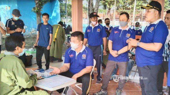 PWI Sampang Madura Gelar Olahraga Bersama dan Donor Darah dalam Rangka Memperingati HPN ke-75