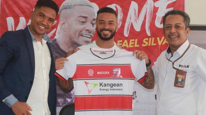 Rafael Silva Punya Target bersama Madura United: Saya Ingin Juara Liga 1 2021 dan Menjadi Top Skor