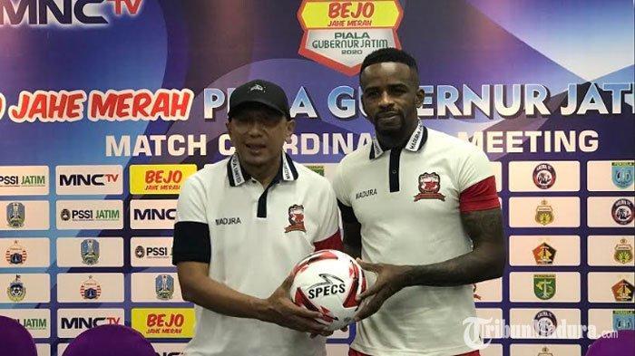 Madura United Bertekad Cetak Sejarah Baru saat BertemuBhayangkara FC padaPiala Gubernur Jatim 2020