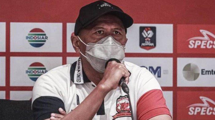Tanpa Suporter, Pelatih Madura United Yakin Pemainnya Hadapi PS Sleman dengan Motivasi Tinggi