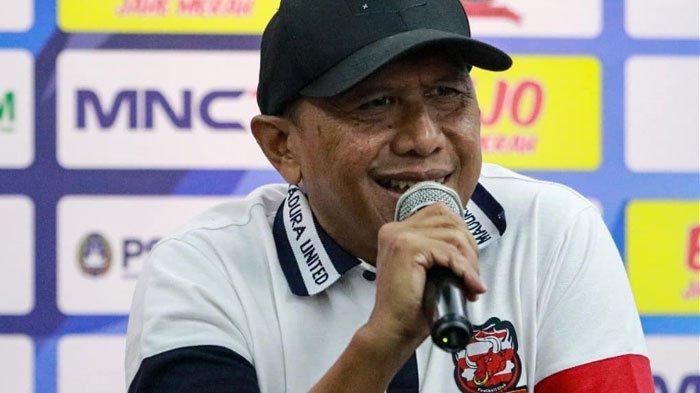 Pelatih Madura United Rahmad Darmawan Sambut Baik Pertemuan Menpora dan Kapolri soal Izin Kompetisi