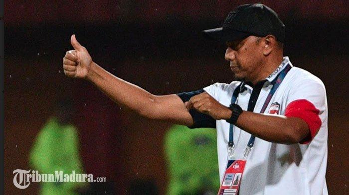 Madura United Ditahan ImbangPersiraja Banda Aceh,Rahmad Darmawan Sebut Pemainnya Kurang Tenang