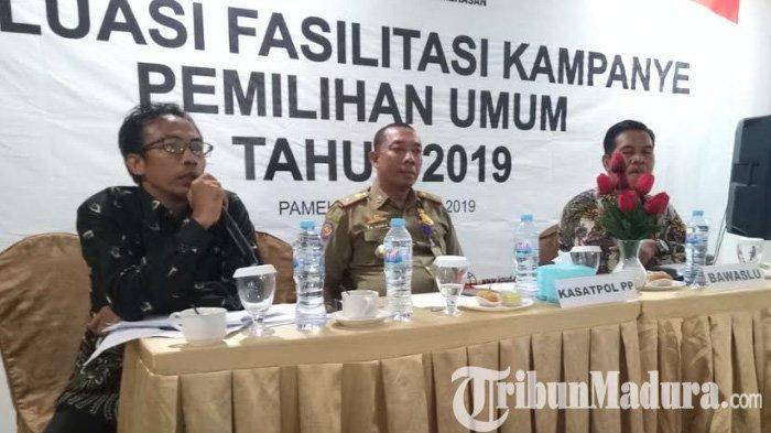 Parpol di Pamekasan Sorot Tajam & Blejeti Kinerja KPU dan Bawaslu Dalam Evaluasi Hasil Pemilu 2019