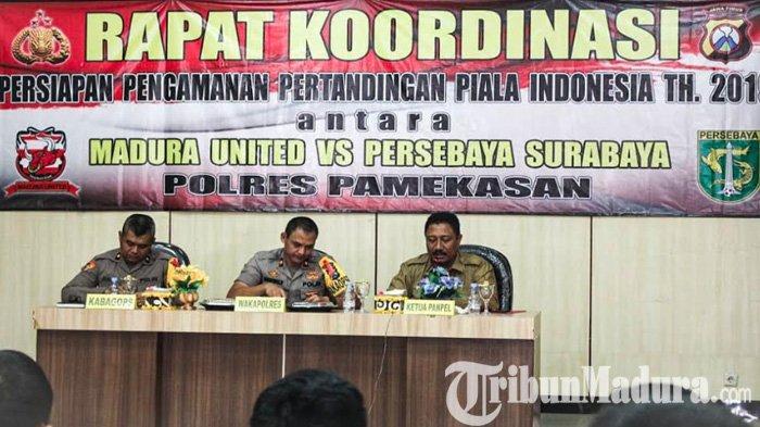 Amankan Leg 2 Derby Suramadu Madura United vs Persebaya, Lebih Seribu Personel Gabungan Diterjunkan