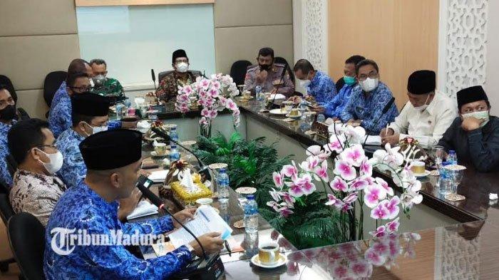 Kegiatan Sekolah Tatap Muka Dihentikan Usai RSUD Syamrabu Bangkalan Lockdown Pasca Lonjakan Pasien