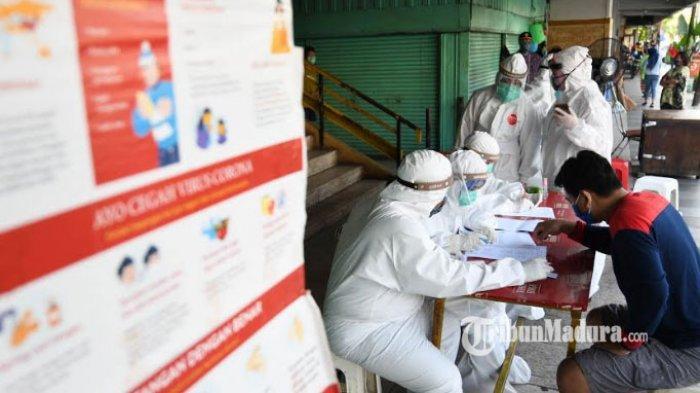 Pemkot Surabaya Gencar Lakukan Rapid Test Massal Pakai Metode Sarang Tawon, 9.773 Orang Diperiksa