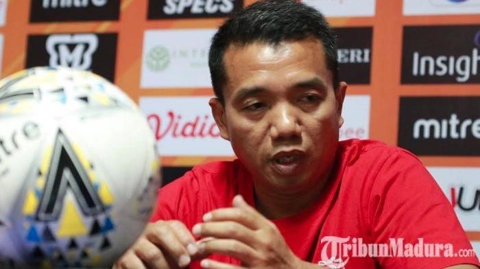 Madura United BungkamKalteng Putra 2-1,Rasiman Ungkap Timnya Berhasil Menang hanya Beruntung