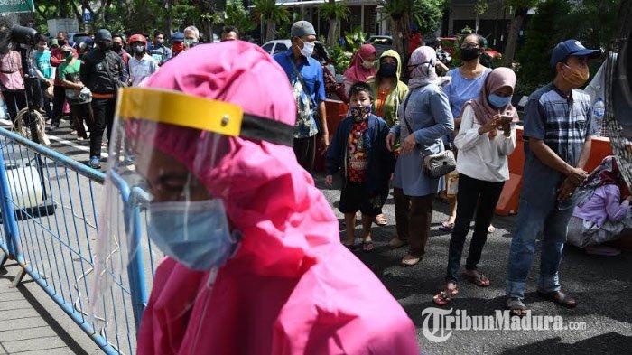 Nekat Berkerumun hingga Tidak Pakai Masker, Awas Langsung Diangkut Tim Swab Hunter Kota Surabaya