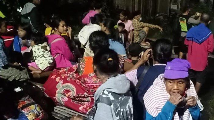 Banjir Menerjang Kabupaten Madiun Hingga Merendam Rumah, Ratusan Warga Mengungsi ke Tempat Aman