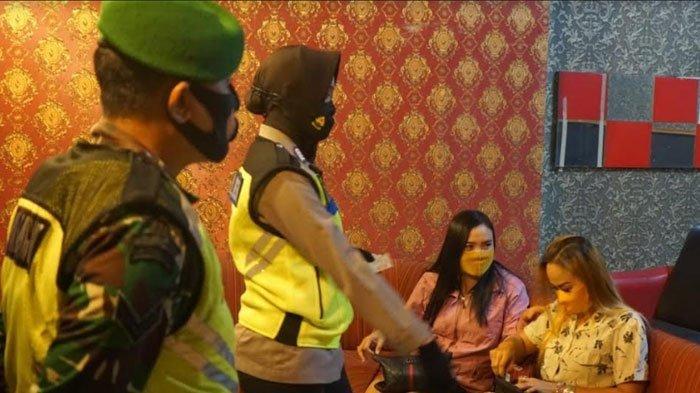 Malam Takbiran di Tempat Karaoke, 18Orang Terjaring RaziaSatpol PP Karena Tak Pakai Masker