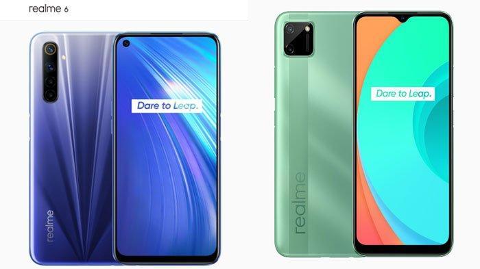 Harga Realme di Bulan November 2020, Mulai Realme C11, Realme C15 Hingga Realme Narzo