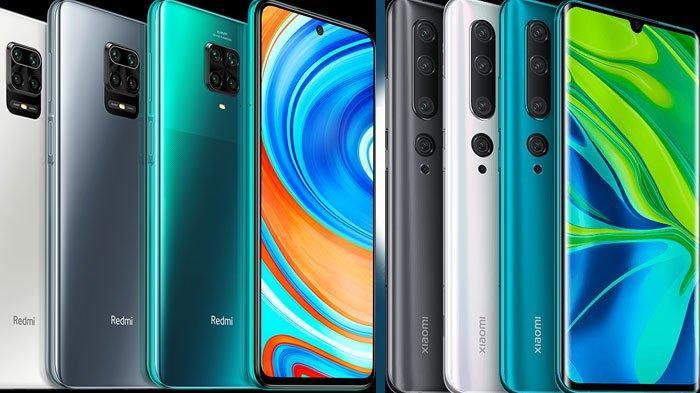 Terbaru Daftar Harga HP Xiaomi di Awal Juni 2020, Mulai Redmi 8A, Mi Note 10 Hingga Redmi Note 9