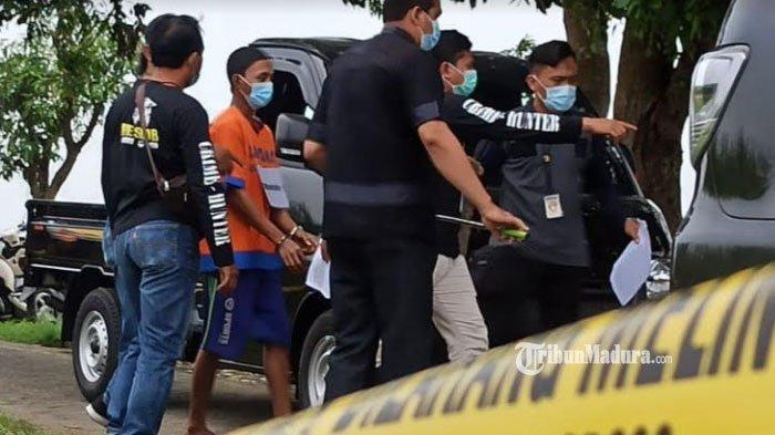 Aksi Keji Pembunuhan Siswa SMP Sidoarjo Karena HP, Leher Dililit Sarung, Mayatnya Dibuang ke Parit