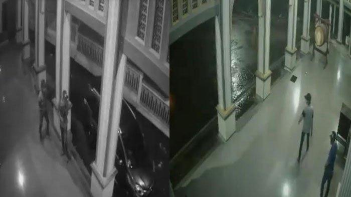 Pencuri Kotak Amal Masjid Pakai MobilToyota New Avanza untuk Kabur,Tak Sadar Aksinya Terekam CCTV