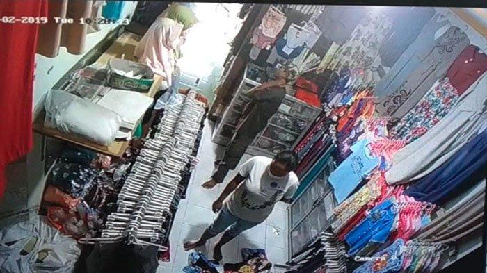 Lakukan Pencurian Ponsel di Toko Baju, Aksi Pasutri Pelaku Pencurian Terekam CCTV