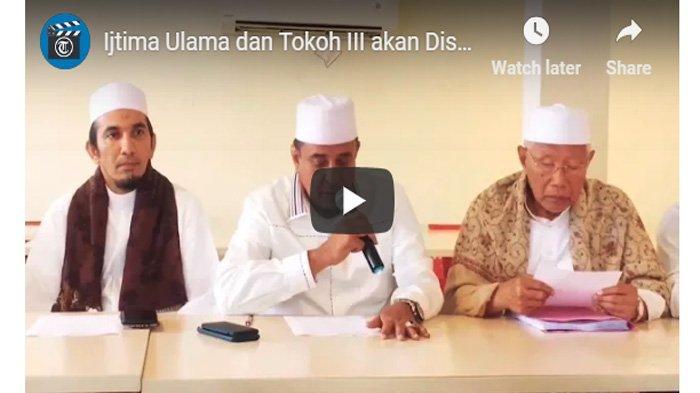 Ijtima Ulama 3 Meminta KPU Diskualifikasi Jokowi, Sandiaga Uno: Harus Didengar dan Dipertimbangkan