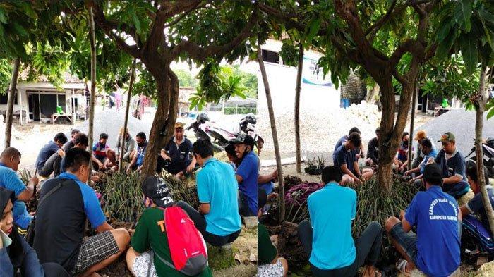 Cegah Abrasi dan Erosi Kawasan Pantai Desa Taddan, KSB Trunojoyo Sampang Lakukan Pembibitan Mangrove