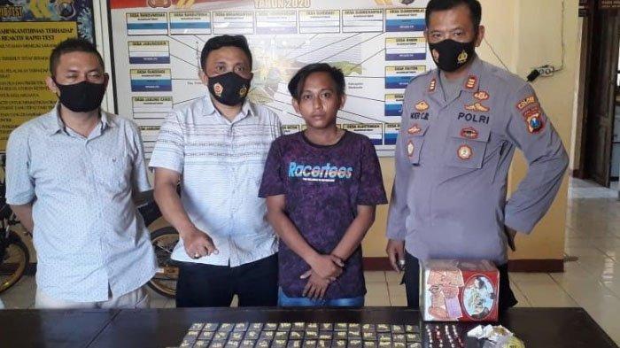Ribuan Butir Pil Ekstasi Diamankan dari Seorang Remaja di Probolinggo, Ini Kronologi Penangkapannya