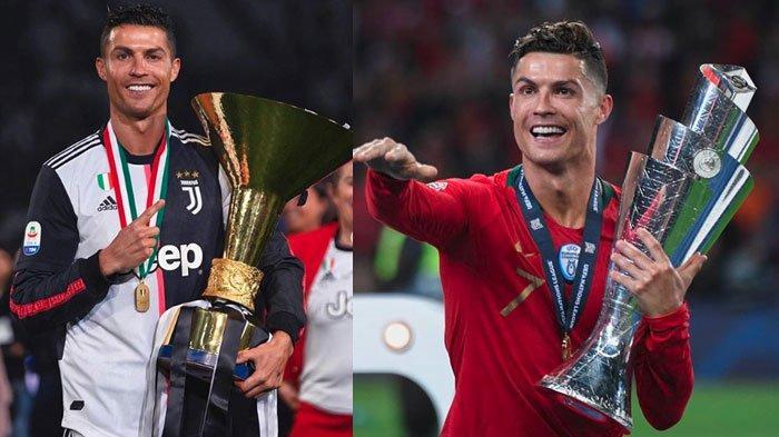 Beda Nasib Juventus dan Cristiano Ronaldo, Bianconeri Kalah Dua kali, CR7 Cetak Brace