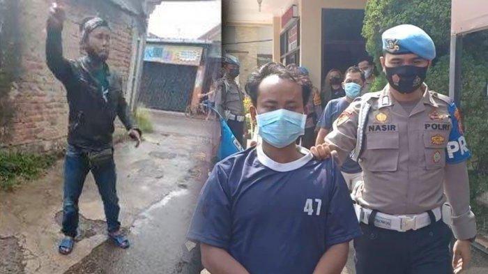Usai Video Viral, Pelaku Penusukan Istri Berhasil Ditangkap, Suami Cemburu Istri Dibonceng Pria Lain